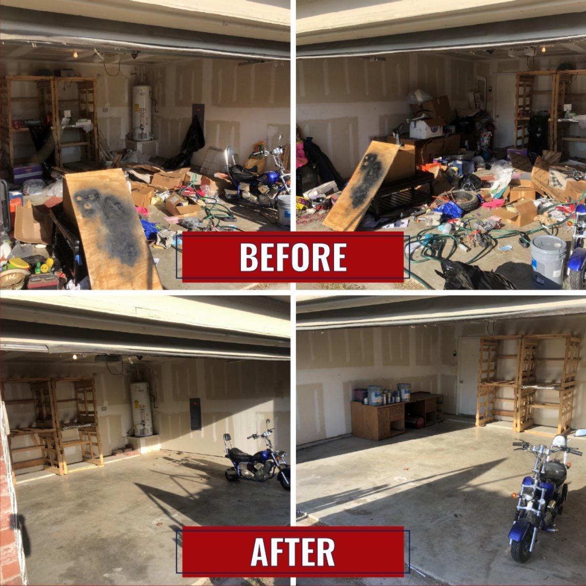 JM Junk Removal - Garage